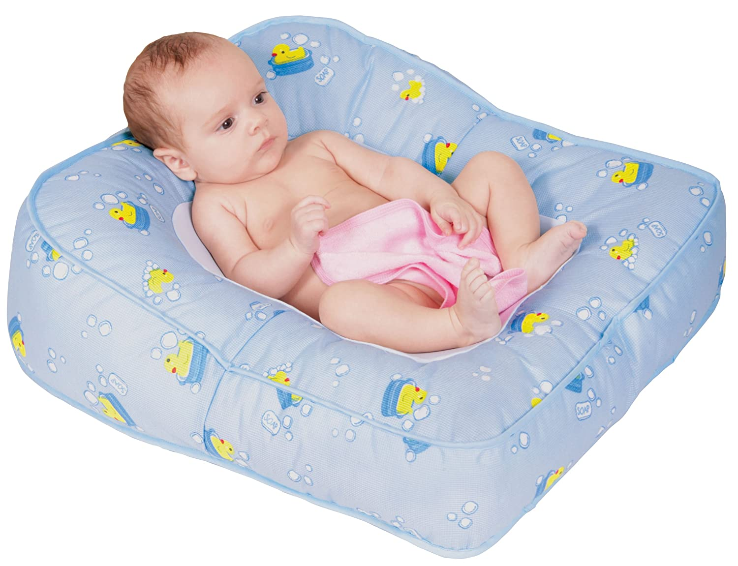 Amazon.com : Leachco Flipper 2-Way Baby Bather, Blue Ducks : Baby ...