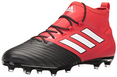 3e8d98fc66c7 adidas Men s ace 17.2 Primemesh fg Soccer Shoe Red White Black (7 M