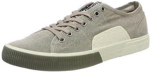 88ff1b11fda7eb Tommy Jeans Men s Tj Urban Textile Sneaker Low-Top  Amazon.co.uk ...