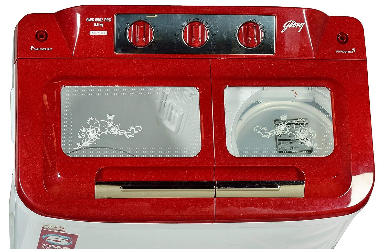 Godrej Sawm Gws 6502 Ppc Semi Automatic Top Loading Washing Machine Motor Wiring Diagram Moreover Ge 65 Kg Red Home Kitchen