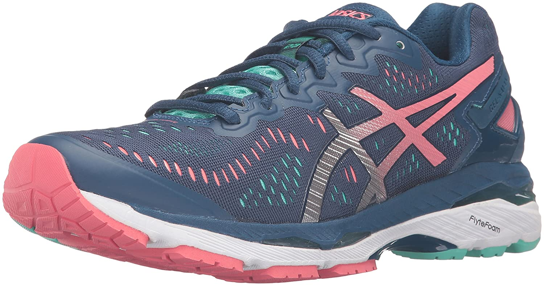 ASICS Women's Gel-Kayano 23 Running Shoe B017USYQWC 11.5 B(M) US|Poseidon/Silver/Cockatoo