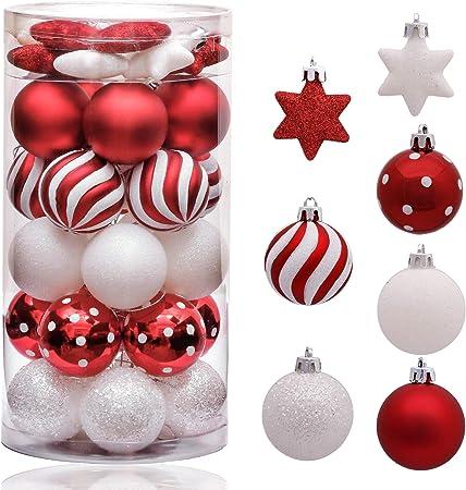 Boules Noël Objets de décoration Suspendus Arbres De Noël Cadeau