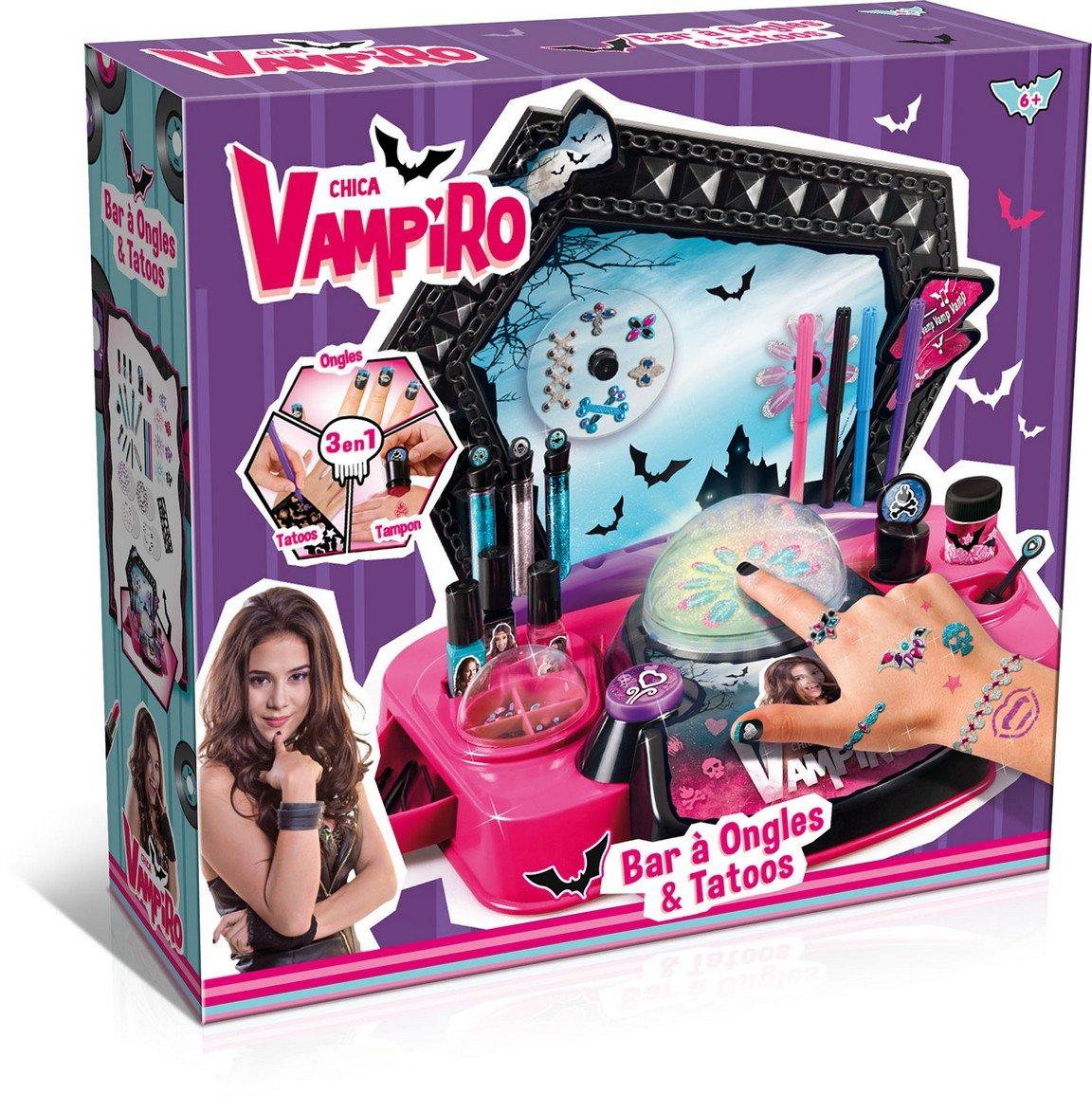 Canal Toys–ct45007–Maquillaje–chica vampiro–Bar de Uñas y Tatoos
