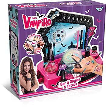 united states buy best differently Canal Toys - CT45007 - Maquillage - Chica Vampiro - Bar à Ongles et Tatoos