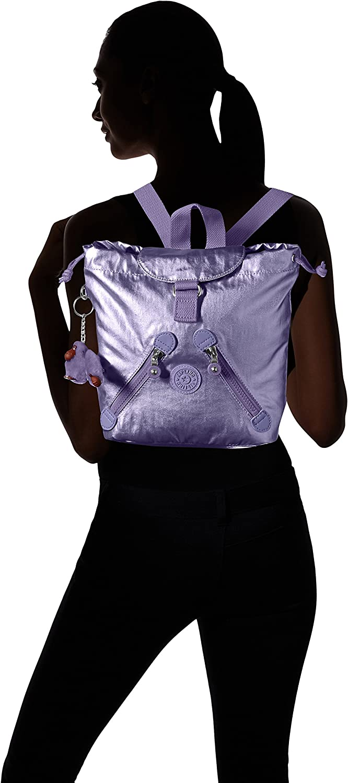 Kipling womens Fundamental XS Surfer Pink Mini Backpack