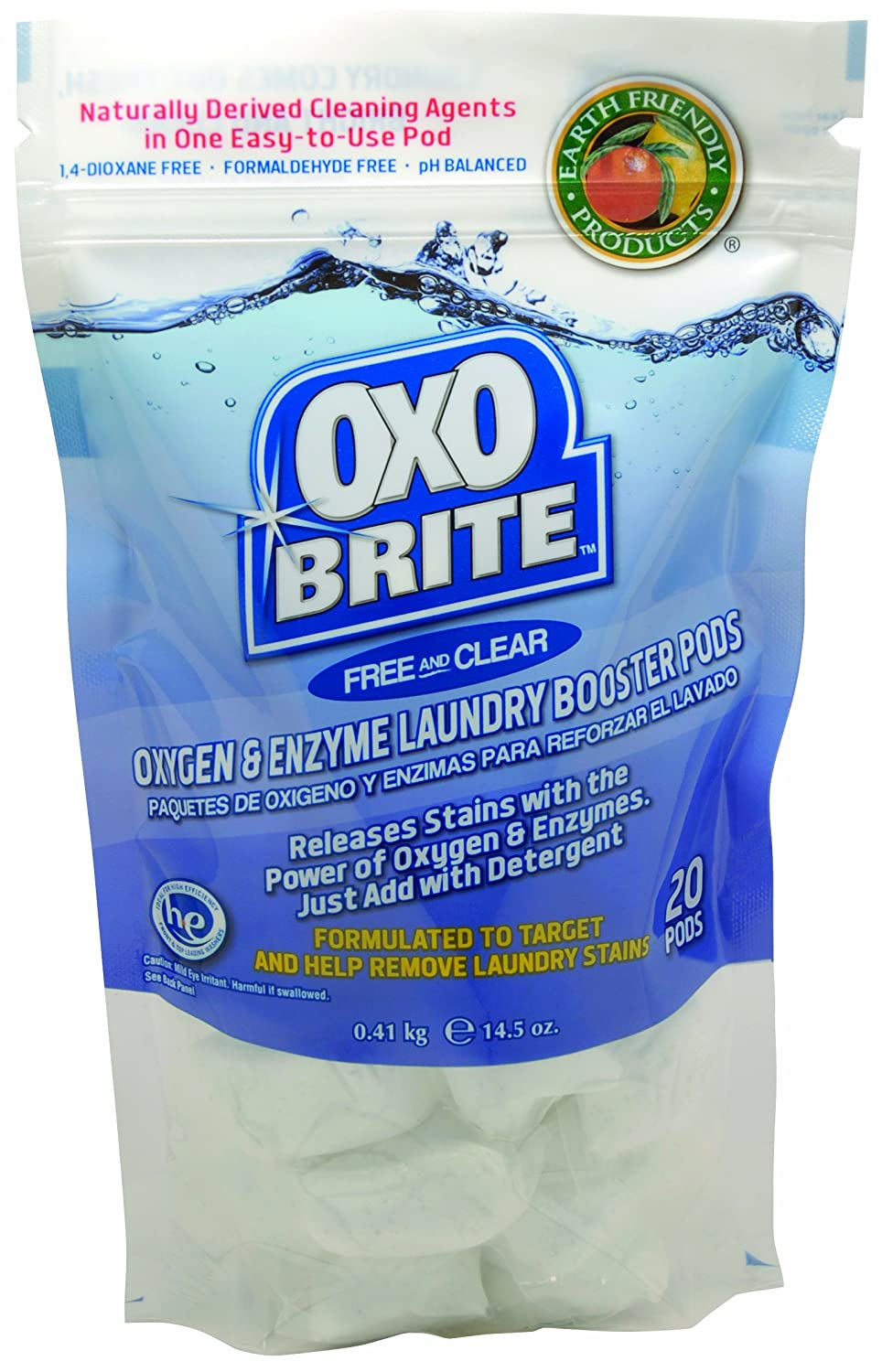 Amazon.com: Earth Friendly Products 947212 OxoBrite Free and ...