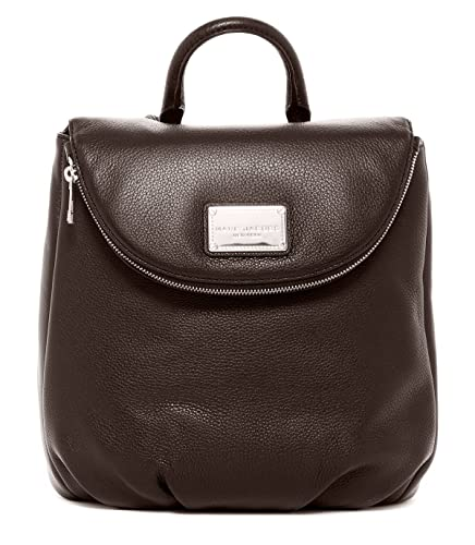 ac2e632e6a8b8 Amazon.com: Marc Jacobs Classic Leather Backpack (Seal): Shoes