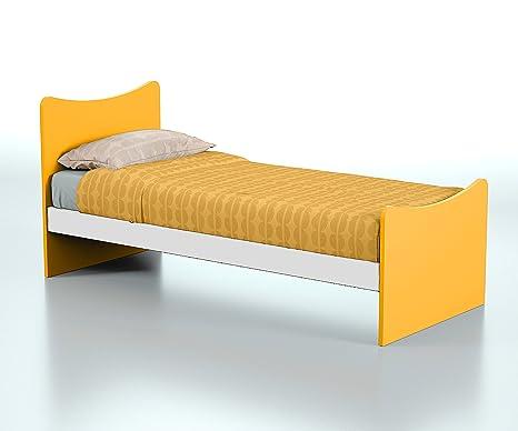 Struttura letto singolo in legno per bambini e ragazzi, Prodotto ...