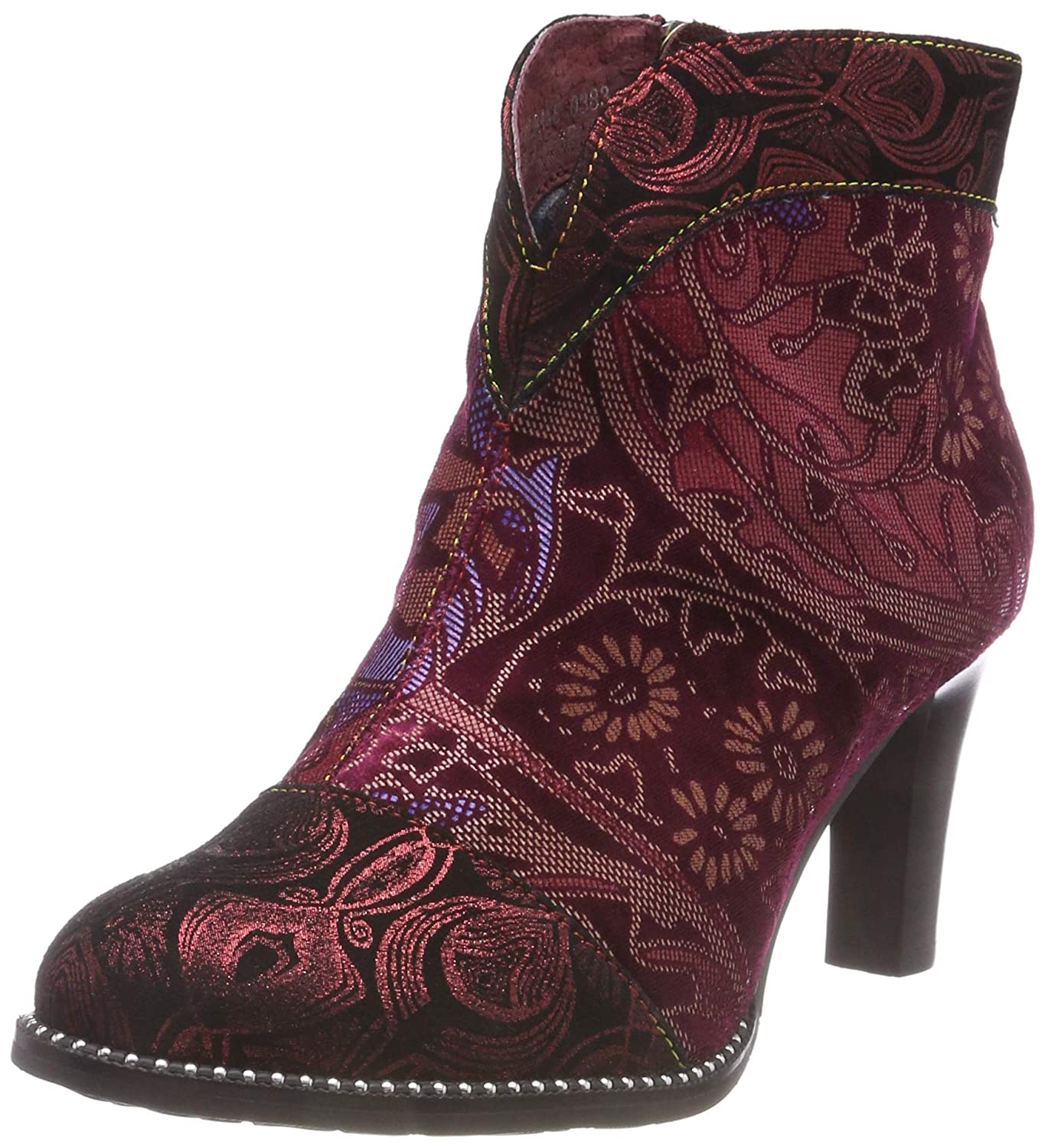 Laura Vita Albane 0383, Botines Botines Albane (Rouge Femme Rouge (Rouge Rouge) e555ad0 - therethere.space