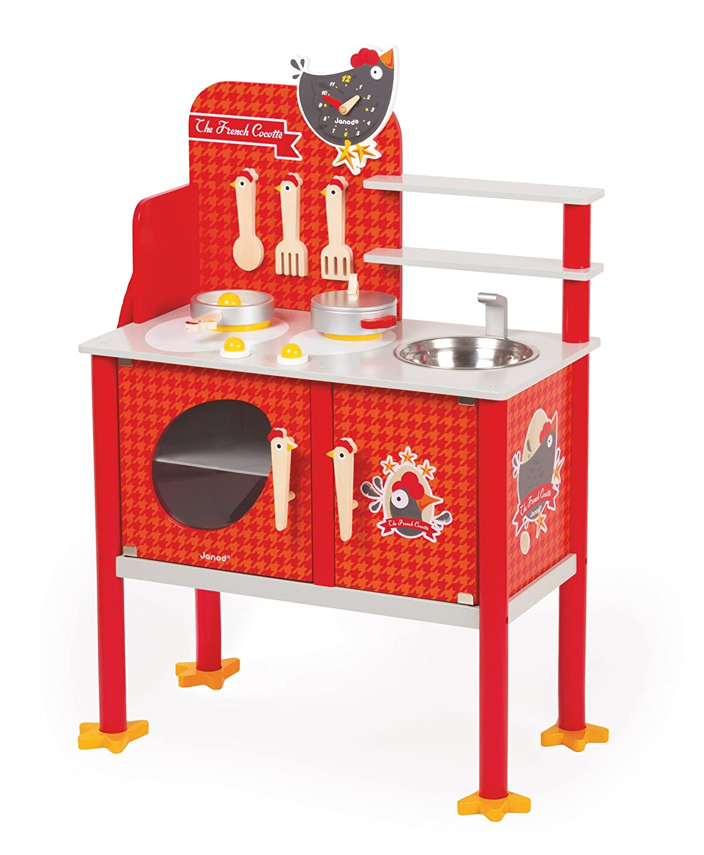 Kinderküche Rot - Janod Küche Cocotte Groß