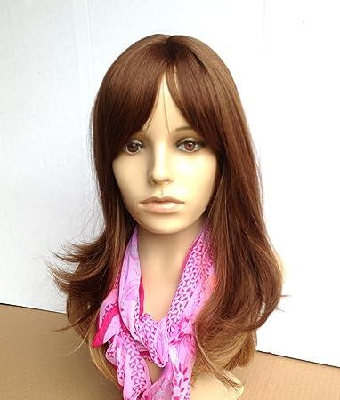 Awe Inspiring Amazon Com Skin Top Heat Friendly Synthetic Hair Wig Ombre Dip Short Hairstyles Gunalazisus