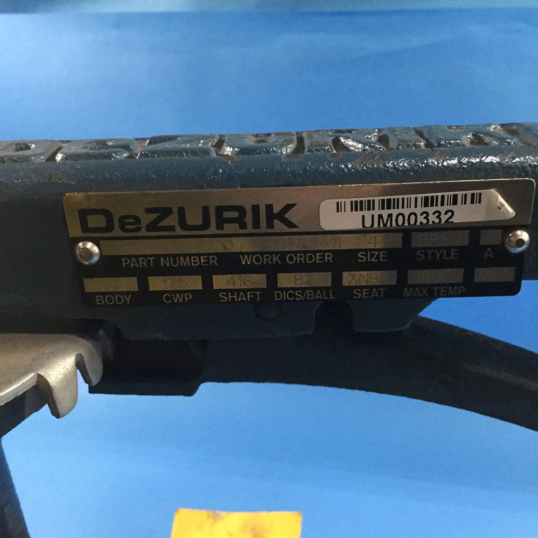 Dezurik 9334059R000 4 Butterfly Valve