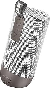 Zero Chill, Pairable Bluetooth Speaker 100 ft. Range, Waterproof, 22 Hour Playtime, Dust-Proof, Drop-Proof IP67 Rating Built-in Speakerphone, Aux-In Port, USB Charging JAM Audio Gray
