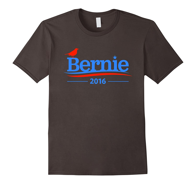 Bernie Bird Shirt - President 2016 Sanders Peace Bern Funny-BN