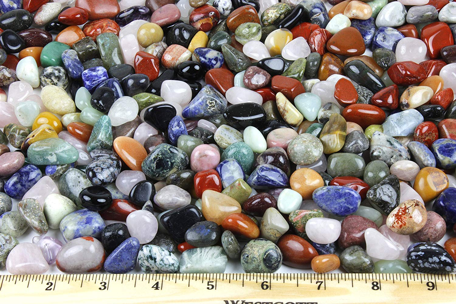 Marbles Agates Or Jaspers Natural Gemstones 2 of One Inch to 1 1//8 inch Vintage