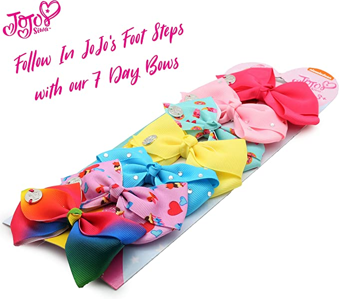 6 inch brand new in Australia various up-to-date designs JoJo Siwa Bows