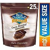 Blue Diamond Almonds 撒碳烤可可粉的大杏仁 , 25 Ounce/709g