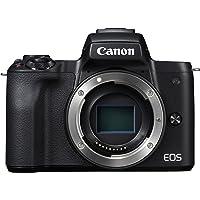 Canon EOS M50 Cuerpo MILC 24,1 MP CMOS 6000 x 4000 Pixeles Negro - Cámara Digital (24,1 MP, 6000 x 4000 Pixeles, CMOS, 4K Ultra HD, Pantalla táctil, Negro)