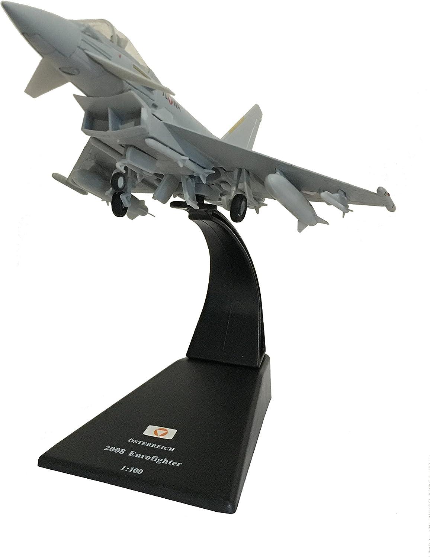 Eurofighter Typhoon F.2 diecast 1:100 model (Amercom SL-38): Amazon.es: Juguetes y juegos