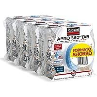 Pack 3+1 Tabletas de recambio de olor neutro para deshumidificador Rubson