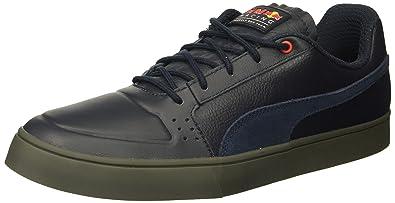 5f6fd933bb1 Puma Men s RBR Wings Vulc Leather Sneaker  Amazon.co.uk  Shoes   Bags