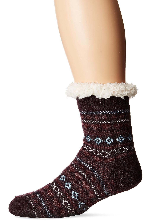 Muk Luks Women's Pattern Cabin Socks