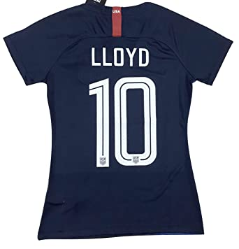 purchase cheap 25d6e 23889 New #10 Lloyd Women's USA Soccer 2018/2019 Away Jersey