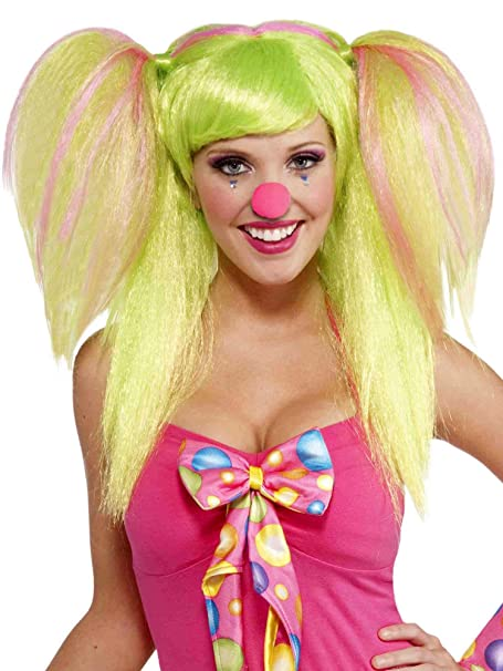 Amazon.com  Forum Novelties Circus Sweetie Lollypop Lilly Wig for Women   Clothing ddb28f33b