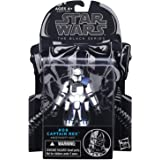 Star Wars, The Black Series, figurine N°9 Capitaine Rex, la Guerre des Clones, 9,5 cm