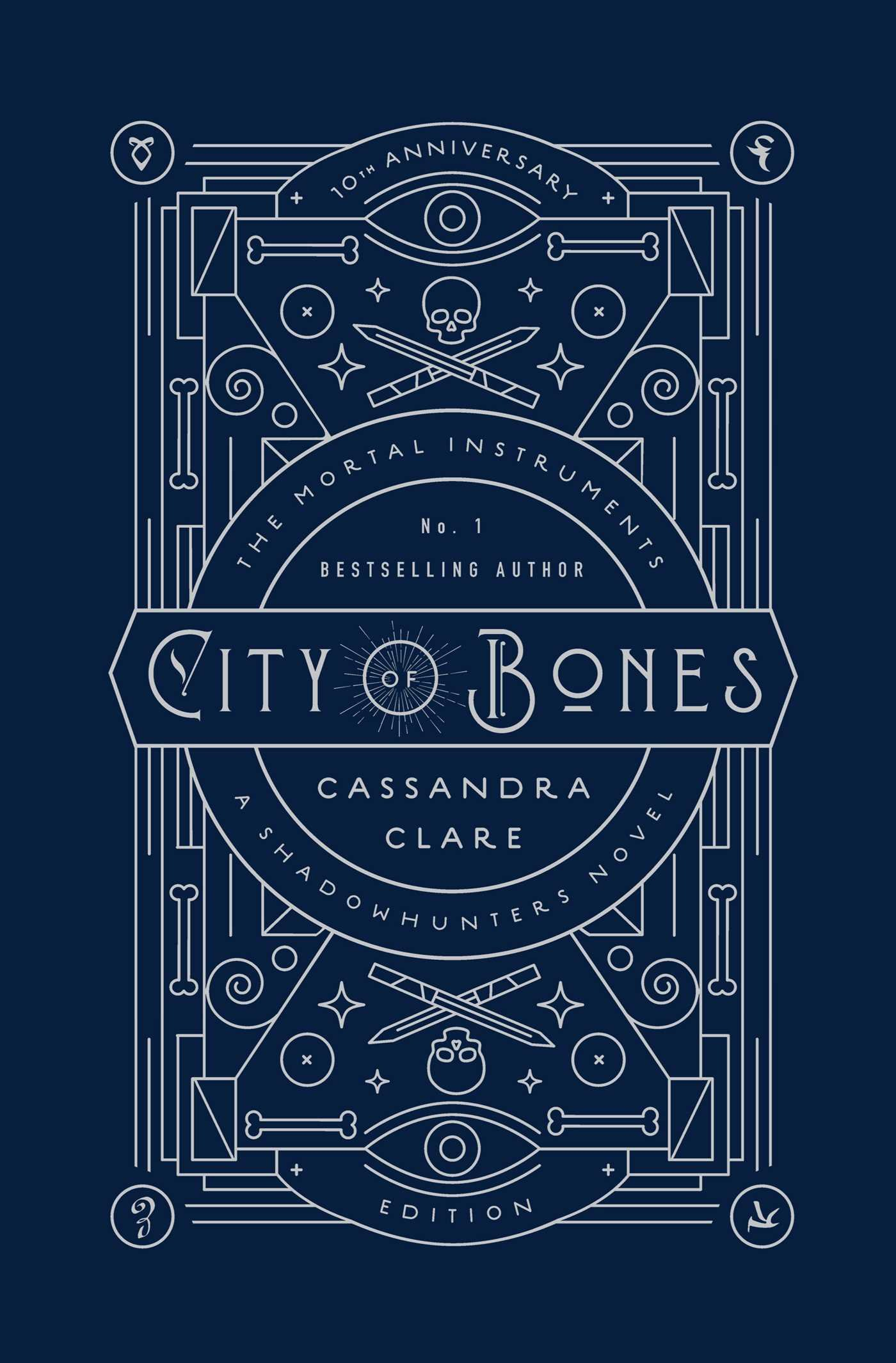 Amazon.com: City of Bones: 10th Anniversary Edition (1) (The Mortal  Instruments) (9781534406254): Clare, Cassandra, Jennings, Kathleen, Jean,  Cassandra: Books