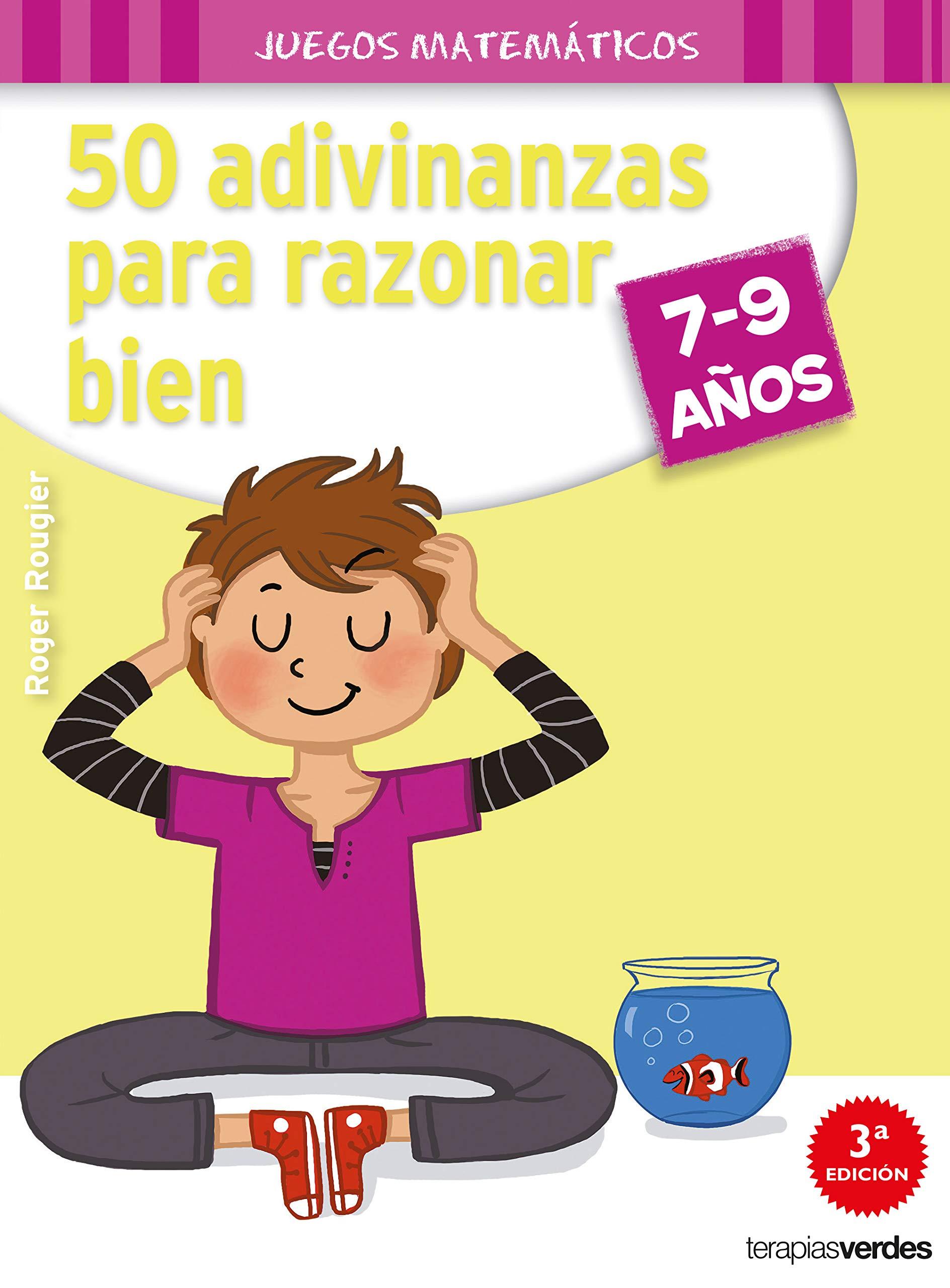 50 adivinanzas para razonar bien 7-9 años Terapias Juegos Didácticos:  Amazon.es: R. ROUGIER, Susana Peralta Lugones: Libros