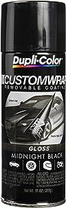 Dupli-Color ECWRC8400 Custom Wrap Gloss Midnight Black