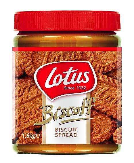 lotus biscotti  Lotus Biscoff confezione da 1.6kg - Crema spalmabile al caramello ...