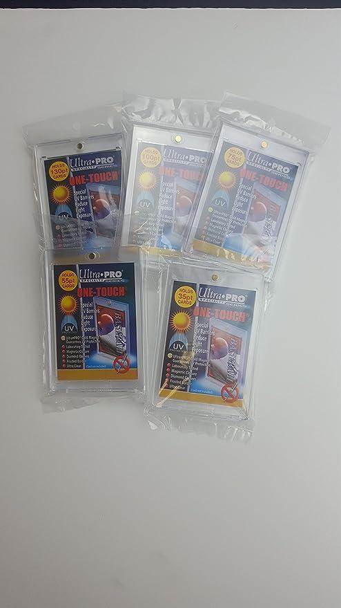35pt Ultra Pro Bundle of 6 Magnetic Holders UV Protected 1ea 180pt 100pt 55pt 75pt 130pt