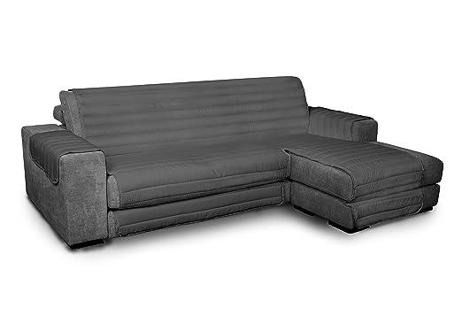Datex Funda cubre sofà Elegant Humo 240cm