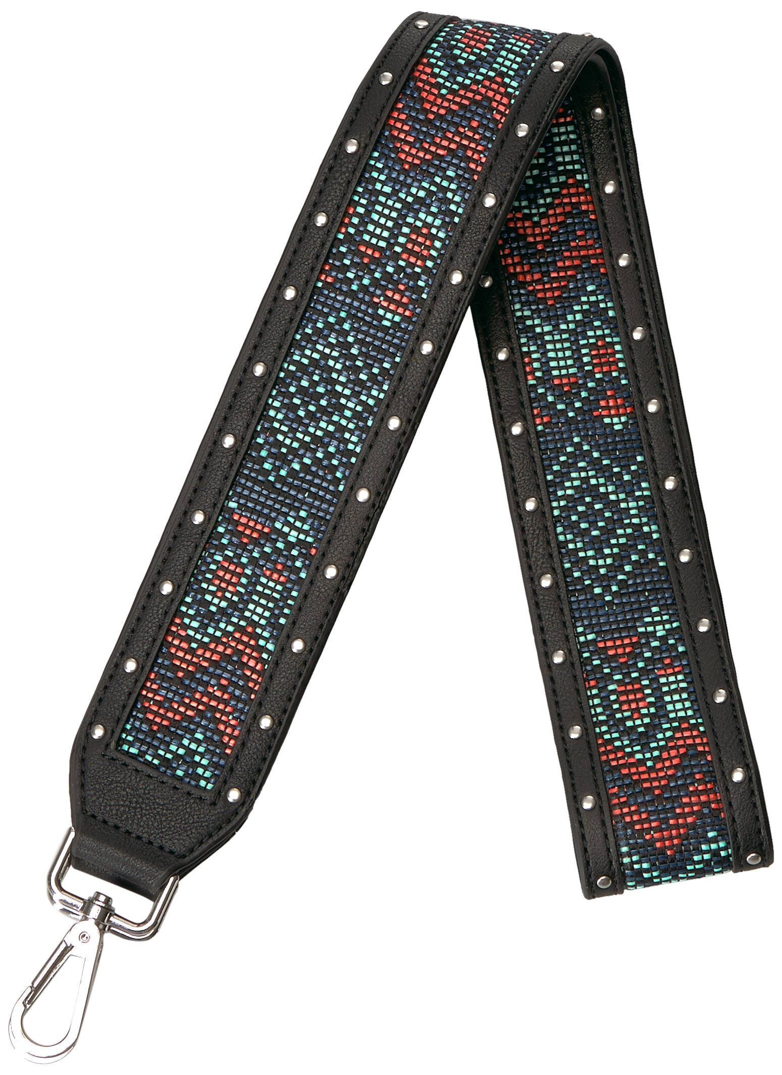 The Fix Emily Guitar-Style Bag Strap Wallet, Geo Print Multi, One Size by The Fix