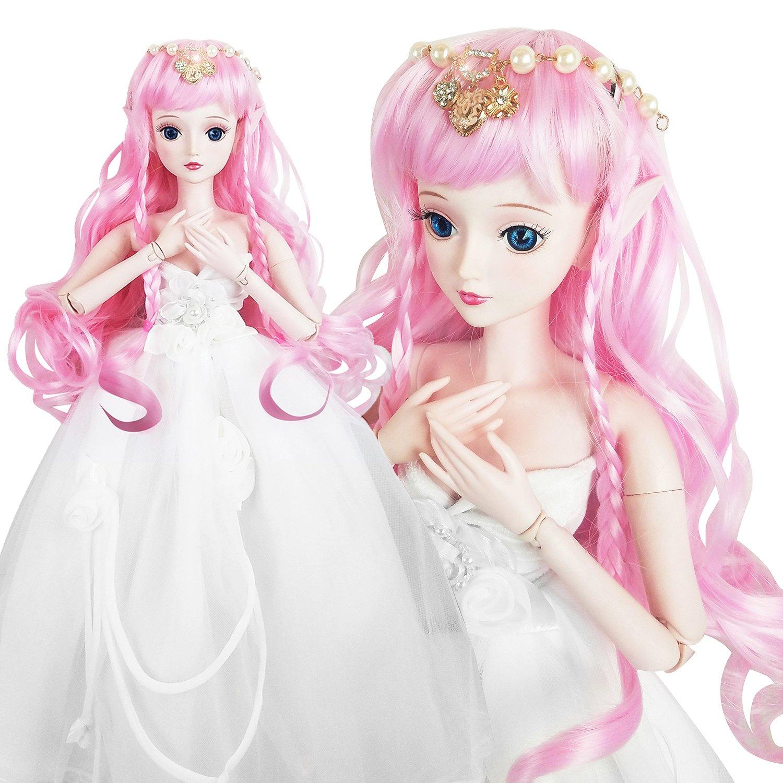 Love Secret Spirit 1/3 BJD SD Doll Demon Wish Girl 24'' 60cm 19 jointed dolls Toy