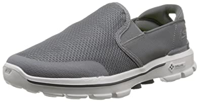 Skechers Performance Men's Go Walk 3 Charge Walking Shoe,Charcoal,8.5 ...