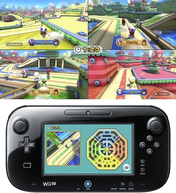 Nintendo Wii U - Consola Básica + Party U + Nintendo Land: Amazon ...