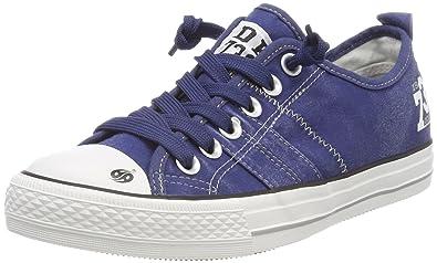Dockers 38Ay602-790660, Unisex-Kinder Sneaker, Blau - Blau - Bleu (Navy 660) - Größe: 31