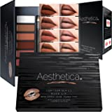 Amazon Price History for:Aesthetica Nude Lip Contour Kit - Contouring and Highlighting Matte Lipstick Palette Set - Includes Six Lip Crèmes, Four Lip Liners, Lip Brush and Step-by-Step Instructions - Vegan & Cruelty Free
