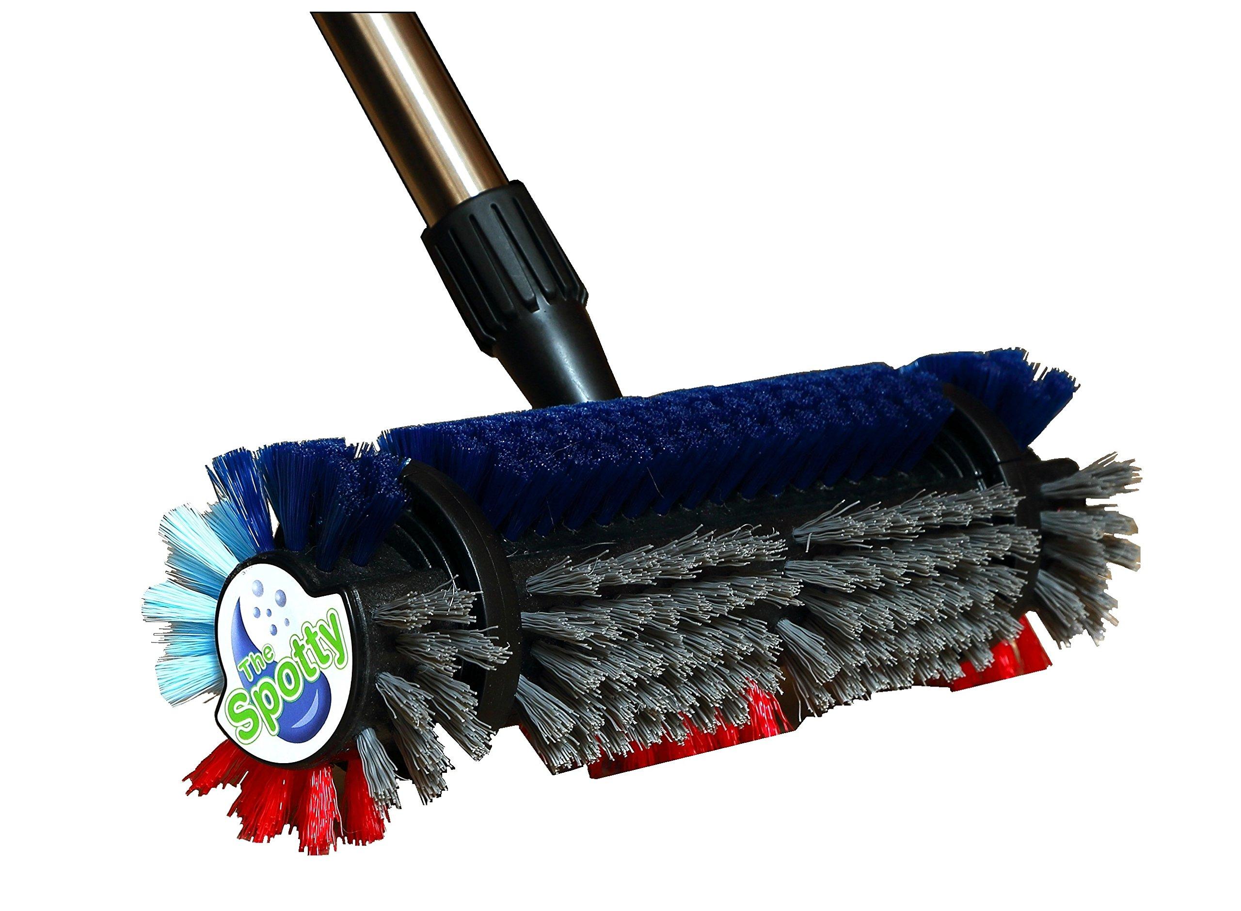 The SPOTTY™ ~ Carpet & Tile Cleaning Brush