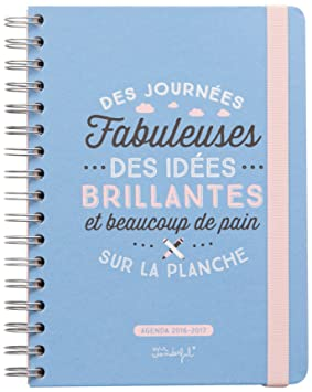 Mr.Wonderful WOA03570FR - Agenda 2016/2017 motivo Des ...