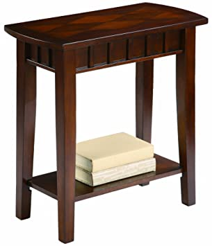 Amazoncom Crown Mark Dentil Chair Side Table Kitchen Dining