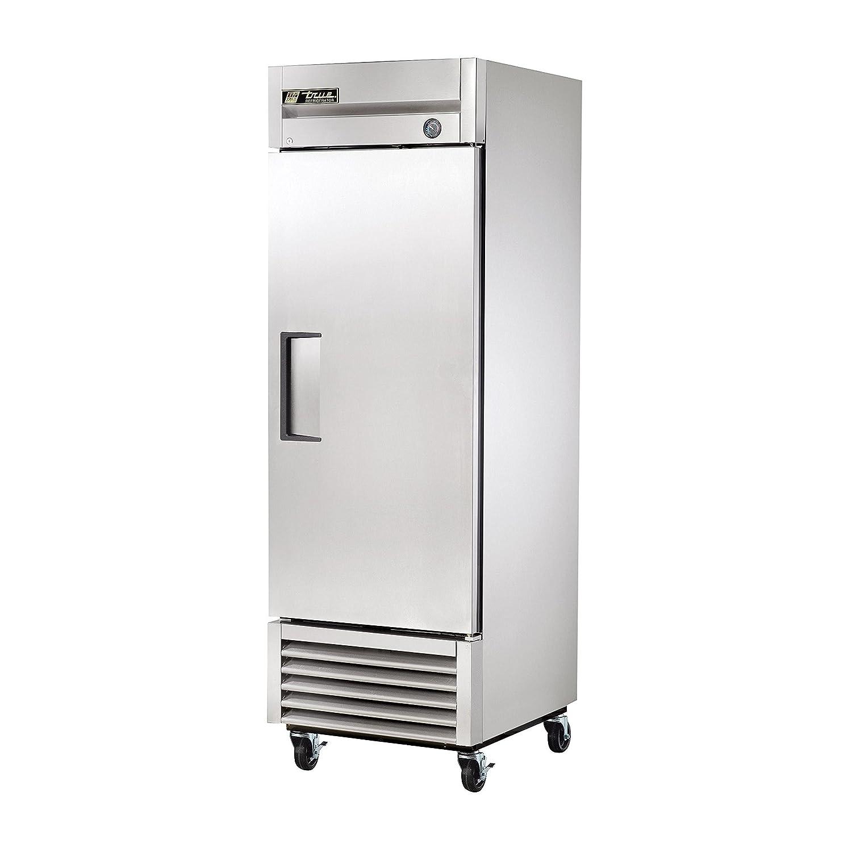True T-Series S/S Single Door Reach-In Refrigerator, 23 Cubic Ft