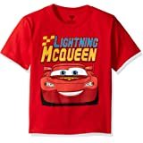 Disney Boys' Cars Lightning McQueen T-Shirt