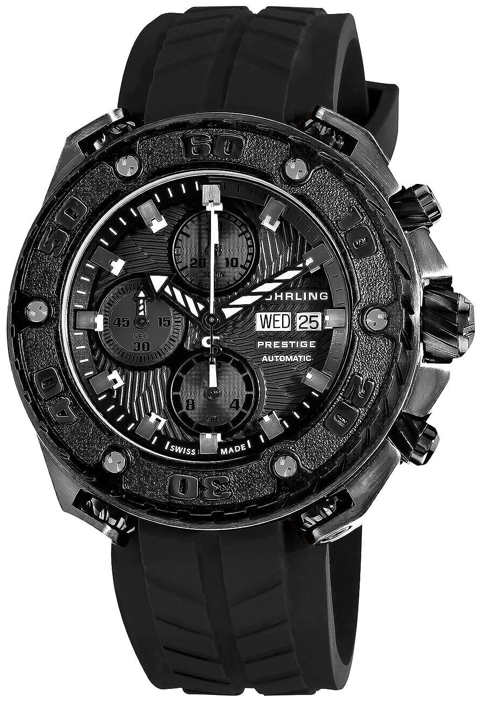 STUHRLING PRESTIGE Herren-Armbanduhr Chronograph Automatik 322A.33F61