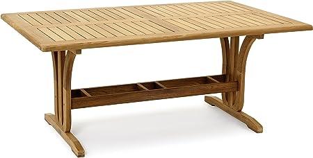 Garvida Grosser Tisch Palazzo Gartentisch In Natur Amazon De