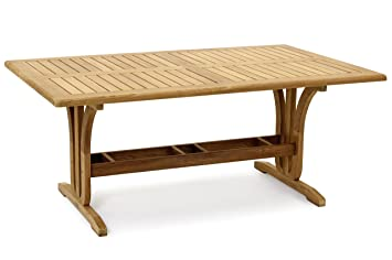 Amazonde Garvida Großer Tisch Palazzo Gartentisch In Natur