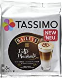 Tassimo Latte Machiatto Baileys Coffee Capsules, Pack of 5 (Total 80 Pods, 40 Servings)